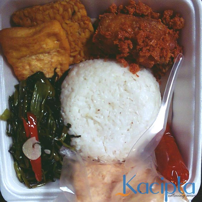 Nasi Box Tumis Kangkung, Pilihan Paket Nasi Box Unik