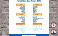 Harga Paket Catering Nasi Box Arisan di Tasikmalaya
